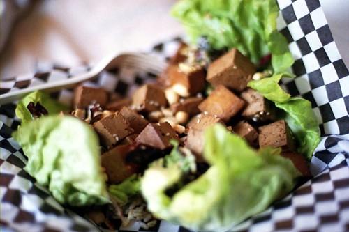 MIHO tofu wrap
