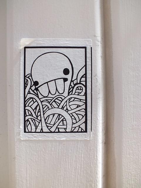 Spades Blob creature sticker