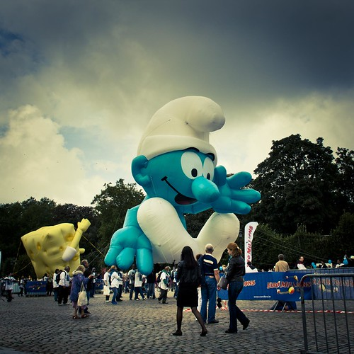 Smurfs' Day (Balloon's Day Parade, Brussels) Photo : Gilderic