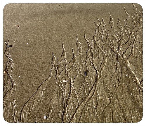 sand pattern, Grove Beach
