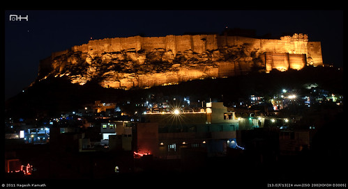 Majestic fort of Meherangarh