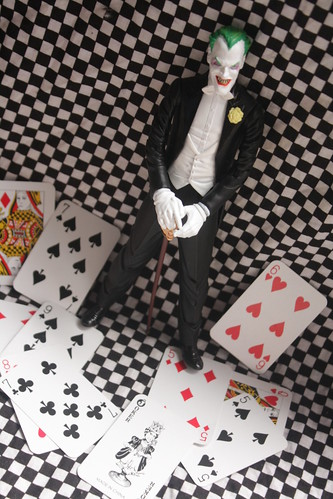 102/365- Justice League Joker Figure