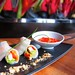 Vietnamese Rice Paper Rolls @ Fire at the W Retreat and Spa Bali
