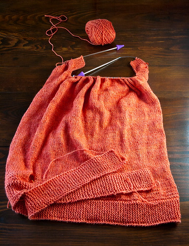 Chiton Pullover - WIP