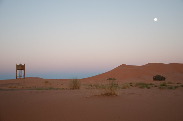 Sunset in Merzouga
