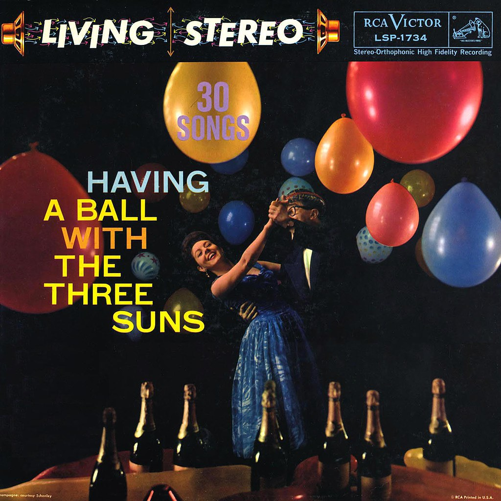 The Three Suns - Having a Ball with The Three Suns