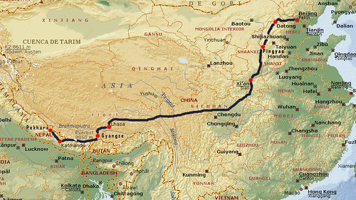 CHINA_TIBET_NEPAL_CON_TRAZAS