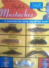 Mustache-a-day