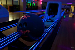 Glowing Bowling Alley