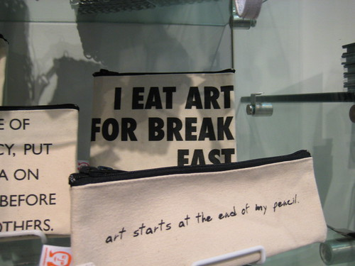 I Eat Art For Breakfast