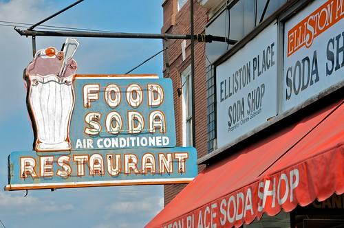 Elliston Place Soda Shop Vintage Sign Nashville TN