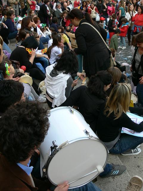 presidio 3 maggio 2011 roma USR via pianciani 32