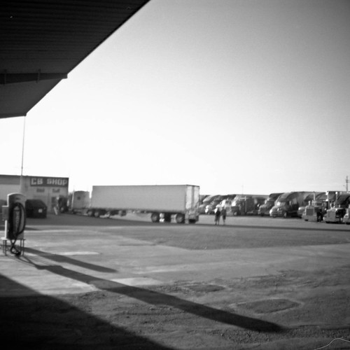 One of the last independently owned and operated truck stops in the country the Triple T outside of Tucson Arizona is popular with truckers making the long drive from Texas to California