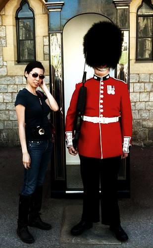 Me and the guard