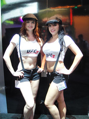 E3 2011 - UFC Undisputed 3 girls (THQ)
