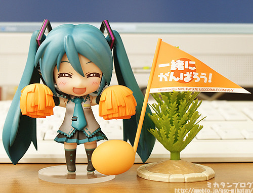 Nendoroid Hatsune Miku: Cheering version