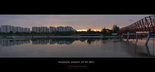 Punggol Sunset Pano #1