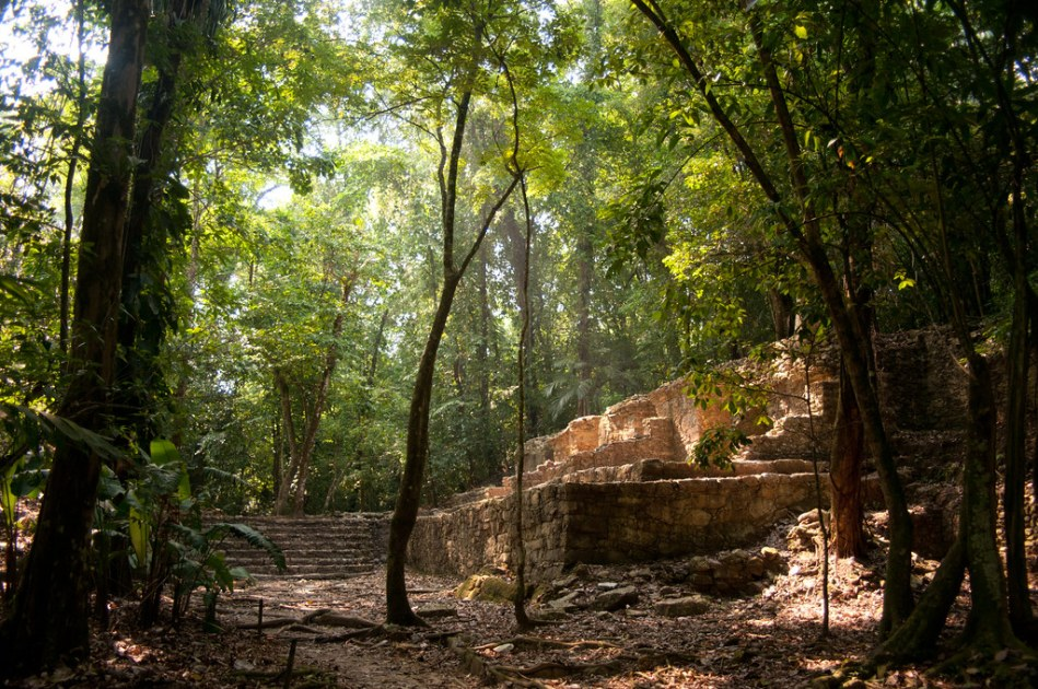 Palenque Ruins - Off the beaten path