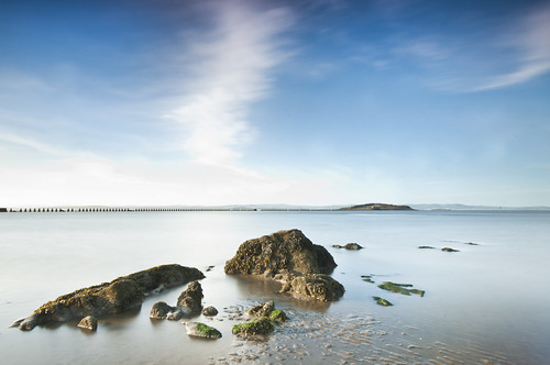 Cramond Beach April 2011
