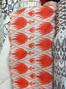 ikat fabric at Renee's