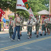 An Americana military parade to honor all veterans was held today in downtown Bowling Green, Virginia.  June 11, 2011.