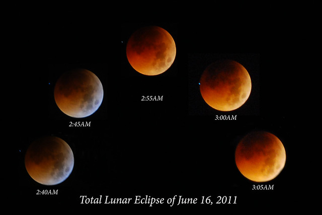 Total Lunar Eclipse of June 16, 2011