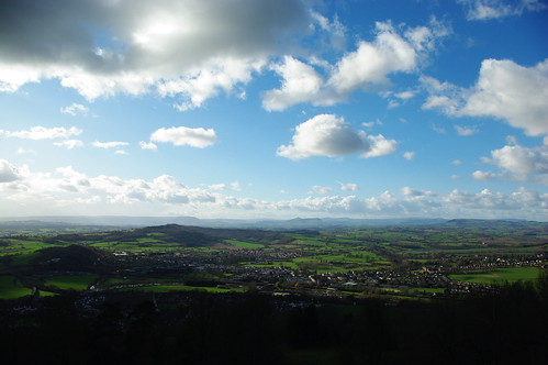 20110227-57_View over Monmouth to Sugar Loaf from The Round House at The Kymin by gary.hadden
