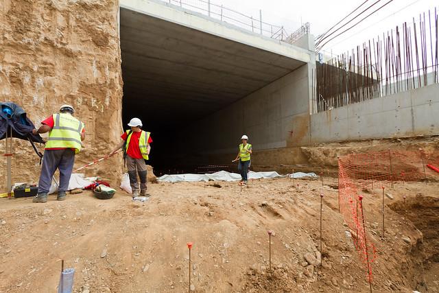 Trabajos arqueológicos en zona Onze Setembre - 13-04-11
