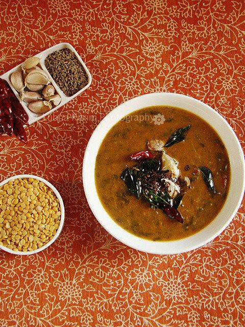 Amaranth Leaves with Lentils