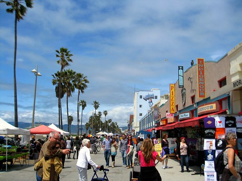 venice boardwalk (114/365)
