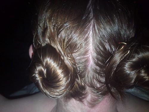 Bedtime hair ;-)