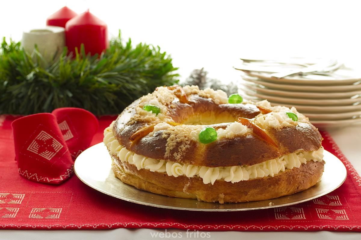 Cómo hacer roscón de Reyes en casa