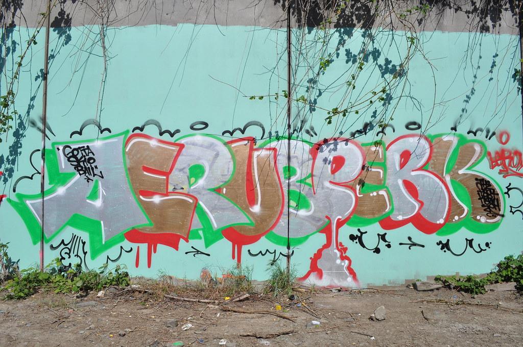 aerub perck tfk graffiti