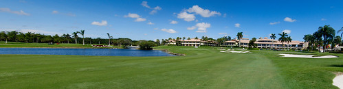 Doral Blue Monster #18, Panorama
