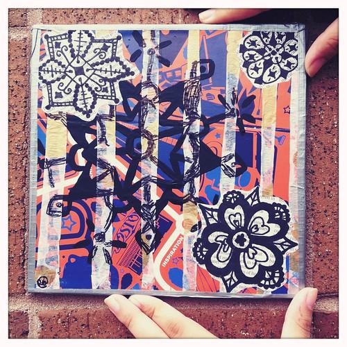 Rose's Community Mosaic Tile