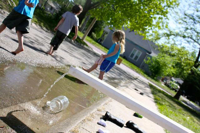 last day of school water play! - 02