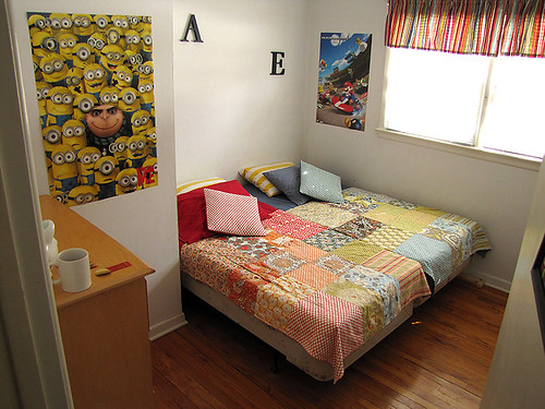 Project Simplify week 3 - Boys' room after
