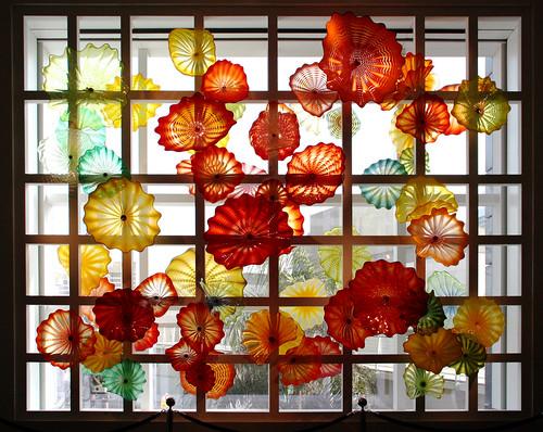 Chihuly, Kaleidoscope Persian Window