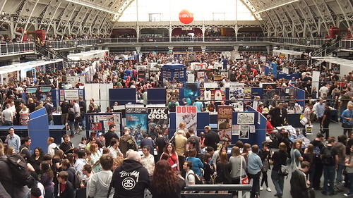 Venue Inside - Kapow Comic Con 2011 London