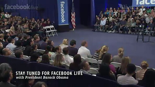 President Obama visiting Facebook by Philjeudy