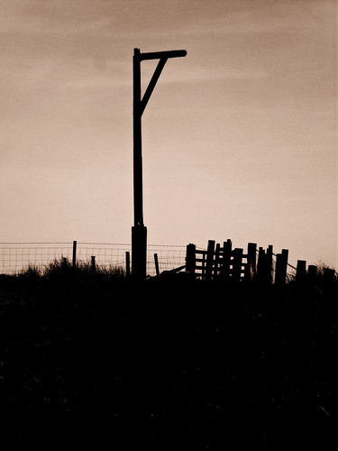 Winters Gibbet 1 by The Church Collector