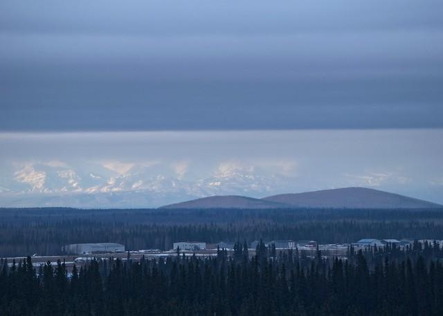 Airport, Butte, Alaska Range