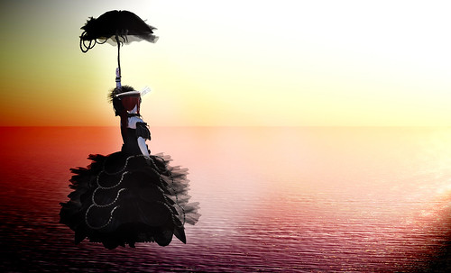 _ Flying with my umbrella by Aliza Karu [AD Creation]