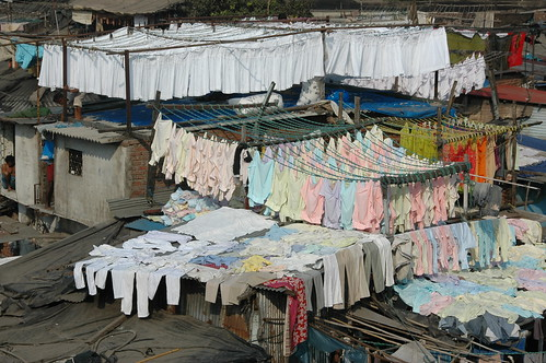 de Dhobi Ghat: een reusachtige menselijke wasmachine