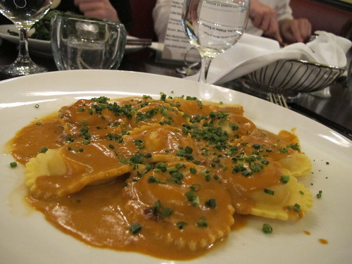 Cafe Figaro Lobster Ravioli