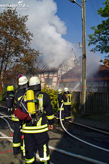 Scheunenbrand Waldems-Bermbach 21.04.11