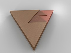Take an equilateral triangle and cut it into t...