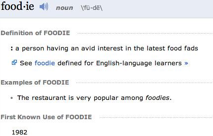 A U201cFoodieu0027su201d Dilemma. Foodie Definition