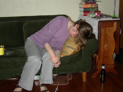 spinning while sleeping