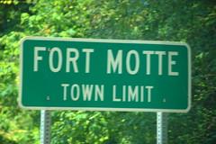 Fort Motte Sign